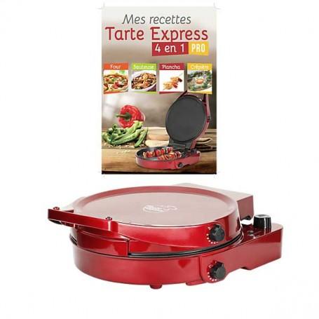 TARTE EXPRESS 4 EN 1 PRO Appareil à Tartes Double Thermostat